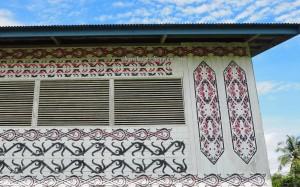 Rumah Adat, Suku Dayak Lundayeh, authentic, traditional, village, native, Indonesia, Malinau, tribal motif, destination, obyek wisata, Tourism, tourist attraction, transborder, 北加里曼丹, 婆罗洲原著民