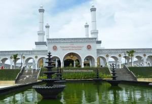 Islamic Center Nunukan, Hidayatur Rahman, masjid, mosque, Borneo, Indonesia, Kalimantan Utara, Pulau Nunukan, Island, Kota, exploration, Obyek wisata, Tourism, tourist attraction, travel guide, Transborneo