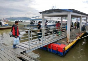 Pelabuhan Kapal Laut Tunon Taka, port, Imigrasi, destination, exploration, Borneo, Indonesia, Island, Sabah, Tourism, tourist attraction, travel guide, International Border crossing, transborder, transborneo,