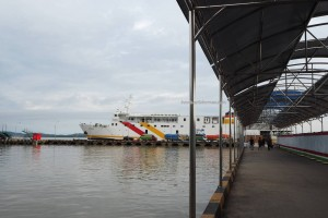 Pelabuhan Kapal Laut Tunon Taka, wharf, Ferry terminal, Transportation, Immigration checkpoint, exploration, Borneo, Indonesia, Tawau, Tourism, tourist attraction, travel guide, transborder, transborneo, 北加里曼丹, 婆罗洲