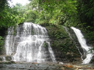 Borneo, Sarawak, mountain, nature, national park, matang, waterfall