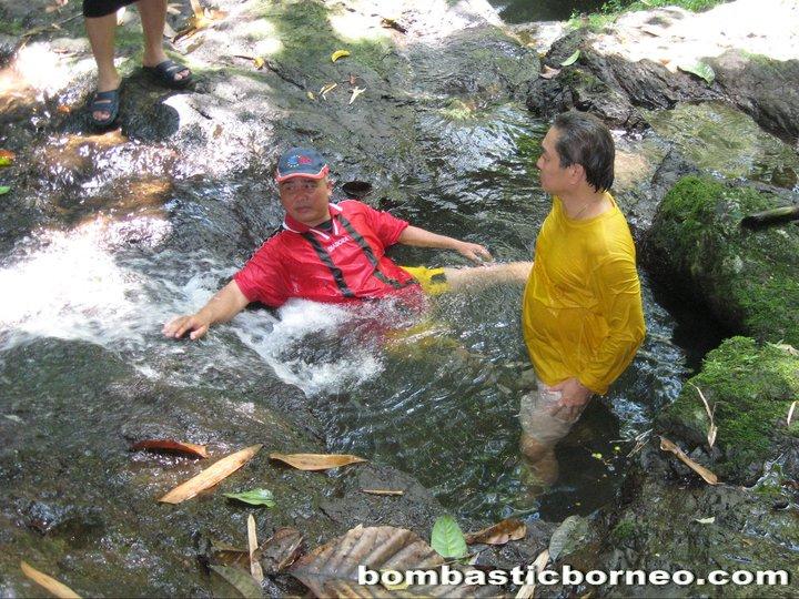 Borneo height, Sarawak, kuching, stream, waterfall, nature, village