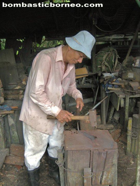 Borneo height, Sarawak, kuching, village, blacksmith