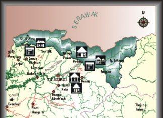 Borneo, Kalimantan barat, west Kalimantan, national park, map, nature, adventure, outdoor, Indonesia, taman nasional betung kerihun, trekking, orang utan, proboscis monkey, trekking, kayaking, Kapuas hulu, waterfall, gibbon, caving, canoeing