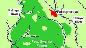 Borneo, Kalimantan central, Kalimantan tengah, national park, map, nature, adventure, outdoor, Indonesia, national park, taman nasional sabangau