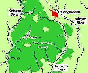 Borneo, Kalimantan central, Kalimantan tengah, national park, map, nature, adventure, outdoor, Indonesia, national park, taman nasional sabangau