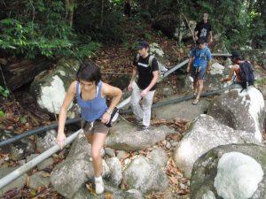 Malaysia, Kuching, Lundu, Biawak, nature, adventure, outdoor, native, orang asli, dayak, bidayuh, waterfall, climbing, trekking