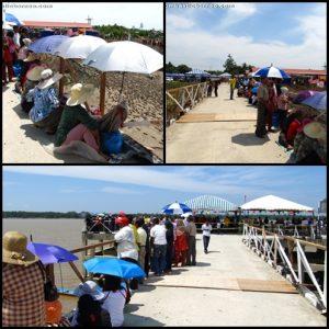 spaoh, betong, sarawak, malaysia, borneo, event, puffer fish, ikan buntal, fishing village, exotic delicacy, local food, saribas river