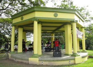 borneo, kuching north city hall, event, kuching utara, sarawak, musical sunday, museum garden bandstand, local band
