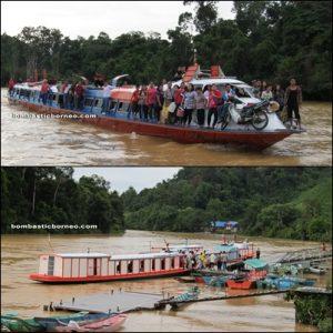Borneo, Malaysia, Sarawak, sibu, kanowit, dabai. local, exotc delicacy, longhouse, iban, sea dayak, native, olive, fruit, rajang river, boat