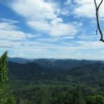 mountain, waterfall, Borneo Highland, Bidayuh, village, nature, jungle, trekking, Land Dayak, Sarawak, kuching, native, malaysia, Bengoh Dam, Kampung Sait, hanging bridge, bamboo, suspension, bungoh range