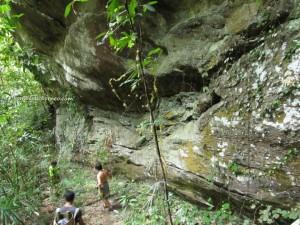 Cascade, waterfall, Borneo Highland, Bidayuh, village, nature, primary jungle, trekking, Land Dayak, Sarawak, kuching, native, malaysia, Bengoh Dam, Kampung Sait, hanging bridge, bamboo, suspension