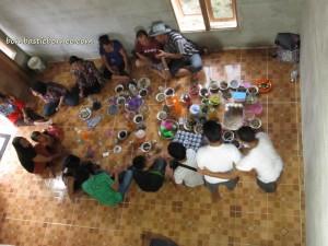 Nyarok, Kalimantan Barat, Kampung Sadir, Padawan, Borneo Highland, Culture, Traditional, Bidayuh, Gawai, Land Dayak, ritual, kuching, native, malaysia, indonesia, sarawak, Suruh Engkadok