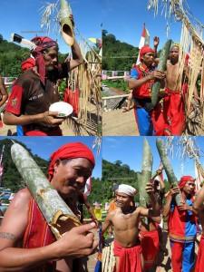 Nyobeng, Borneo, Culture, Traditional, Bidayuh, Gawai, Land Dayak, Kalimantan Barat, Sarawak, Sebujit, sungkung senebe, ritual, kuching, native, malaysia, indonesia, bau, gumbang, Padang pan, bamboo