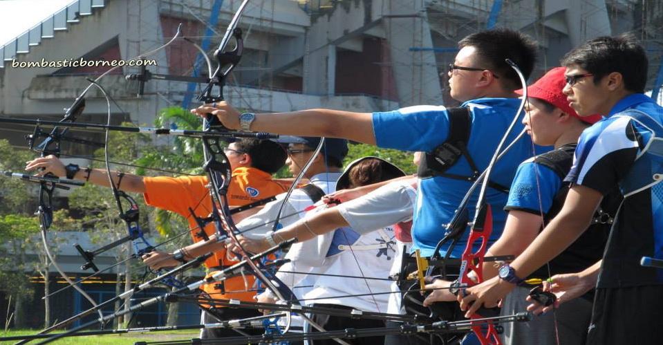 outdoor archery, sarawak, Kuching, Borneo, state stadium, ourdoors sports, matang