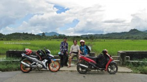 paddy field, dutch foxhole, singkawang, bengkayang, kalimantan barat, indonesia, beach, borneo, chap goh meh, chinese new year,
