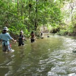 stream trekking, Belian, ironwood, waterfall, Uking Longhouse, adventure, Borneo, Dayak Iban, tribal, Betong, Sarawak, Malaysia, Culture, nature