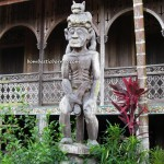 Lamin, Danau Jempang, adventure, Borneo, Indigenous Dayak Benuaq, East Kalimantan, hard wood, traditional longhouse homestay, Indonesia, Kalimantan Timur, lake, Mahakam river, outdoor, Tanjung Jone, village, Statue carving, patung, sculptures,