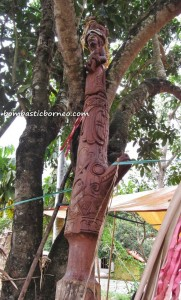 Tonggak Keramat, East Kalimantan Timur, Indonesia, Dayak Benuaq, Borneo, outdoors, Tourism, authentic, ethnic, traditional, indigenous, native, Melak, Kutai Barat, West Kutai, Culture, tribe, sculptures, Belian, adat, ritual, Damai,