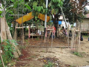 Tonggak Keramat, East Kalimantan Timur, Indonesia, Dayak Benuaq, Borneo, outdoors, Tourism, authentic, ethnic, traditional, indigenous, native, Melak, Kutai Barat, West Kutai, Culture, tribe, sculptures, Belian, adat, ritual, Totem pole, Damai,