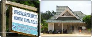 Puskesmas Pembantu Kampung Muara Nayan, Kalimatan timur, Kutai Barat