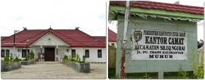 Kantor Camat Siluq Ngura, Kutai Barat, Kalimatan timur,