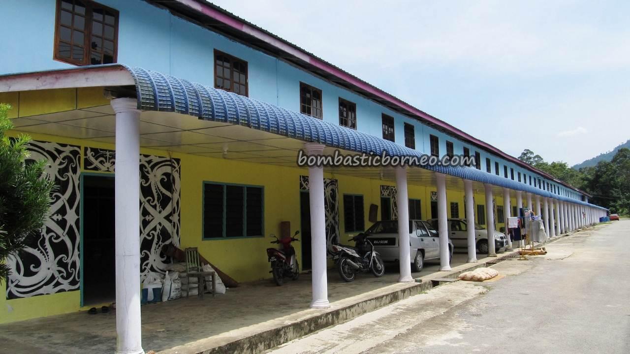 Iban Tribal Po Ai Longhouse Sri Aman Sarawak Malaysia