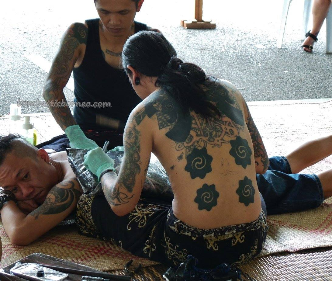 Kuching Blowpipe Carnival Event Traditional Tattoo Expo Bombastic Borneo