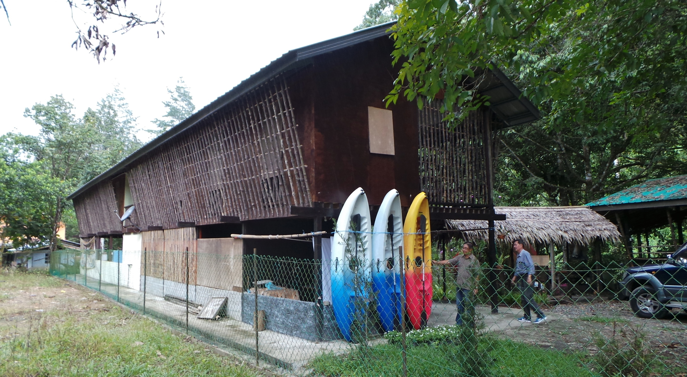 authentic village, fishing, hiking, homestay, indigenous dayak, Kadamaian River, Kadazan Dusun, Kalangadan Cafe, Mount Kinabalu, native, nature, outdoors, Tamparuli, tribal, tribe, white water rafting, kayaking, Malaysia