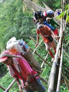 Bengoh Dam, adventure, bamboo bridge, indigenous, Kampung Ayun, Kuching, Malaysia, native, nature, Non Government Organization, outdoors, Padawan, rural, trekking, tribal, tribe, volunteer