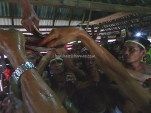 authentic, Dayak Bakati, baruk, Ethnic culture, indigenous, Indonesia, West Kalimantan Barat, native event, nyobeng, paddy harvest festival, Bengkayang, rumah adat, spiritual, traditional village, tribal, tribe,