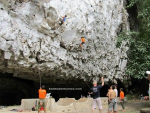 adventure destination, Bau, exploration, Kuching event, Malaysia, Nature Reserve, outdoors, rock climbers, rock on 2, Sports, stalactites, stalagmites, tourist attraction, travel guide, Wind Cave, 仙洞, Gua Pari,