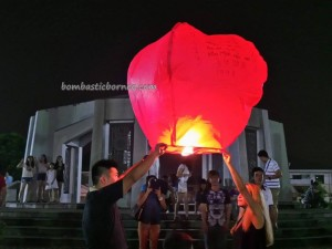 authentic, Borneo event, Chinese, culture, Ethnic, intercultural, Malaysia China Friendship Park, Mid autumn Festival, outdoor, sky lantern, Taman Sahabat, traditional, 中秋节, 孔明灯, 马中公园,