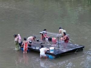authentic, Bananggar waterfall, Borneo, Dayak Selako, Ethnic, kecamatan Air Besar, river, Gawai naik dango, outdoors, paddy harvest festival, ritual, Selakaw, traditional, tribal, tribe, village, kampung,