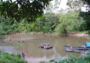 adventure, authentic, Bananggar waterfall, Dayak Selako, Ethnic, Gawai Padi, indigenous, Borneo, Kecamatan Air Besar, native, Outdoors, Selakaw, ritual, tribal, tribe, village,