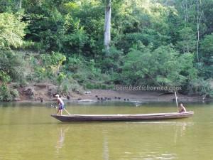 adventure, authentic, Dayak Bidayuh, Speedboat ride, culture, fresh water fishing, indigenous, Indonesia, Kampung Mangkau, native, nature, outdoor, primary jungle, Sanggau, Suruh Tembawang, trekking, tribal, tribe, village,