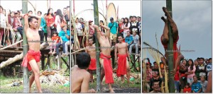 adventure Borneo, authentic village, baruk, bengkayang games, culture event, indigenous, West Kalimantan Barat, Kampung Gumbang, native, nyobeng Sebujit, outdoor, Rumah Adat Baluk, skull house, gawai dayak, tribal, tribe, wisata Budaya,