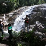 adventure crossborder, air terjun, authentic village, hiking, indigenous, indonesia, jungle, Kaliau, Kampung Biawak, nature, objek wisata, outdoor, rainforest, Riam, Suku Dayak Bakati, trekking, tribal, motorbike ride,