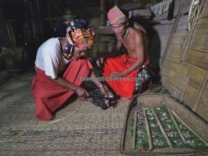adat, authentic village, baruk, bengkayang event, Wisata budaya, ceremony, indigenous, Indonesia, native, nyobeng Sebujit, gawai harvest festival, skull feeding, spiritual, thanksgiving, traditional, tribal, tribe,