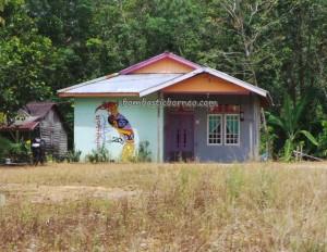 adventure, air terjun, Aruk, authentic, motorbike ride, indigenous, jungle, Kaliau, native, obyek wisata, outdoor, Riam Berasap waterfall, Sanatab, tribal, tribe, village, wisata alam,
