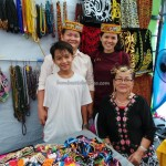 Crafts, culture, dayak, Ethnic, event, Fiesta Makanan, Food festival, International Dragon Boat Regatta, Kraftangan, Kuching, Waterfront, tourism, tourist attraction, happening, beads, Miri, Long San, indigenous people,