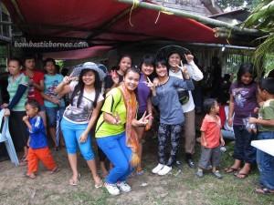 Bidayuh, Borneo, Christian, dayak, Ethnic, Dusun Gun Tembawang, homestay, indigenous, Sarawak, Malaysia, outdoors, Church events, Kampung, Kiding, football match, Semban, Padawan,