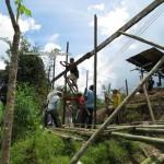 baruk, Bau, Borneo, culture, dayak bidayuh, homestay, indigenous, Kampung, Kuching, malaysia, native, nyobeng, orang asal, skull house, split bamboo panels, tribal, tribe,