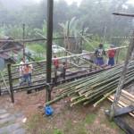 community service, baruk, Bau, Borneo, dayak bidayuh, homestay, indigenous, Kampung, Kuching, malaysia, native, nyobeng, orang asal, skull house, split bamboo panels, tribal, tribe,