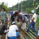 community service, Bau, Borneo, culture, homestay, indigenous, Kuching, malaysia, native, nyobeng, orang asal, Sarawak, skull house, split bamboo panels, tribal, tanju, village