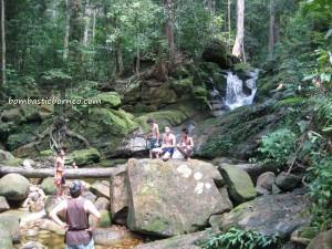 adventure, air terjun, Borneo, gully, Gunung Santubong, hiking, jungle, outdoors, rainforest, Santubong National Park, Tourism, tourist attraction, travel guide, trekking, Puteri