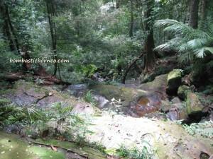 adventure, air terjun, Borneo, gully, Gunung Santubong, hiking, jungle, nature, outdoors, rainforest, Tourism, tourist attraction, travel guide, trekking, Waterfall,