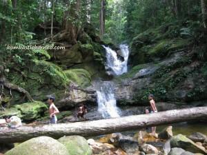 adventure, air terjun, gully, Gunung Santubong, jungle, Kuching, nature, outdoors, rainforest, Santubong National Park, Tourism, tourist attraction, travel guide, trekking, Puteri,