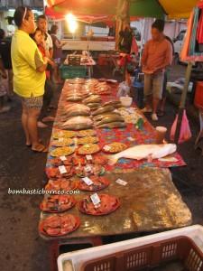 night market, chalets, malaysia, Mardiah Resort, Pasar Malam, Pasar Utama, Sarawak, Tourism, tourist guide, town, wet market