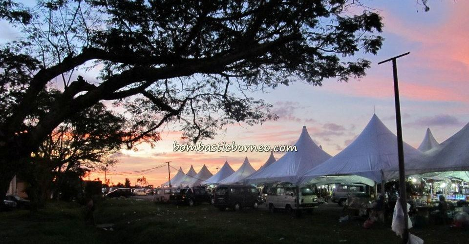 Borneo, chalets, malaysia, Mardiah Resort, Old airport, Pasar Malam, Pasar Utama, tourist guide, town, wet market